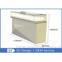 Buy cheap Modern Nice Beige Glasses Jewellery Showroom Counter Designs from wholesalers