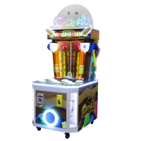 Buy cheap Two Players Kids Arcade Machine / Metal Cabinet Whack A Mole Arcade Machine from wholesalers