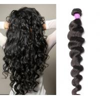 Buy cheap Water Wave peruvian body wave virgin hair Remy Weft Hair For Black Women from wholesalers