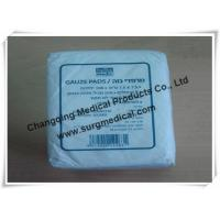 Buy cheap Plain Absorbent Cotton Gauze Dressing Swabs Non Sterile for Wound Care from wholesalers