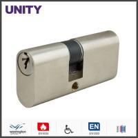 Buy cheap Alu Oval Cylinder Lock Single Cam Polish Chrome Economic Solution product