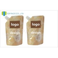 Buy cheap 20 Micron Stand Up Spout Pouch Printing Logo Spouted Pouches Packaging from wholesalers