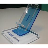 Buy cheap Clear Acrylic Mobile phone Display Holders with silk screen printing product