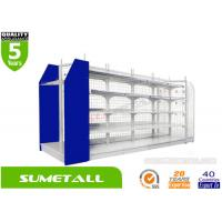 Buy cheap Mesh Grid Panels Convenience Store Shelving product
