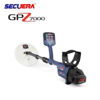 Buy cheap Black Deep Search Underground Metal Detector Long Range For Gold And Silver underground search metal detector GPZ7000 from wholesalers