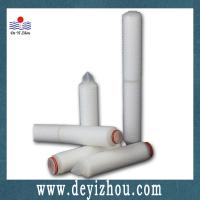 Buy cheap PP pleated filter cartridge from wholesalers