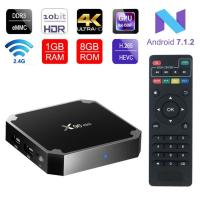 Buy cheap 4K Smart TV Box  X96 Mini Android 7.1 OS , Android Set Top Box 2GB 16GB Amlogic S905W Quad Core from wholesalers