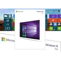 Buy cheap USA Original Windows 10 Product Key Code OEM License With 1GHz Processor from wholesalers