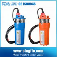 """Buy cheap Pass CE 24v dc 4""""inch 360LPH price solar water submersible pump for deep well product"""