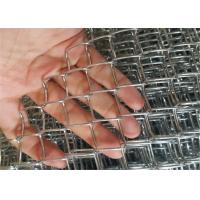 Buy cheap Stainless Steel Chain Link Fabric Mesh Fence 1cm Small Hole Size Anti - Corrosion from wholesalers
