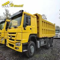 Buy cheap 2012 Sinotruk Howo 6x4 Used Dump Truck 371hp 20m3 30 Ton loading Capacity from wholesalers
