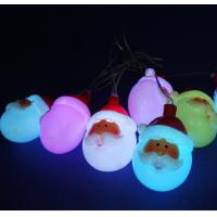 Buy cheap LED Santa Claus lights for christmas from wholesalers