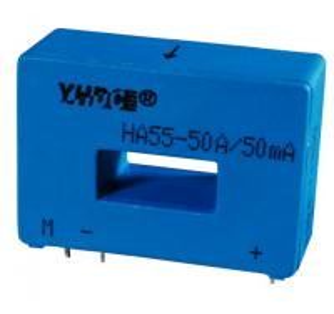 Buy cheap HA55 12VDC current transducer 50A:50mA replace Lem Current Transducer LA 55-P/SP1 product