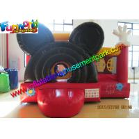 Buy cheap MIckey Mouse Inflatable Bounce House , Small Jumping Castle With Repair Kit from wholesalers