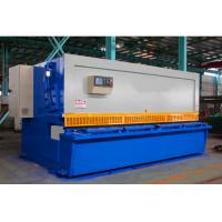 Buy cheap QC12K Carbon Steel Hydraulic Swing Beam 0*6000 NC Shearing Machine from wholesalers