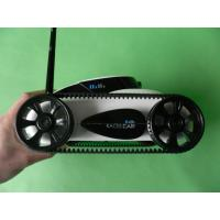 Buy cheap Wifi Controlled RC Spy Tank Car With 0.3Mega-Pixel Support CCTV Live Funcation WT001 from wholesalers