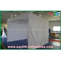 Buy cheap Portable Custom Outdoor Silk Screen Printing Advertising Folding Steel Frame Tent product