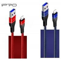 Buy cheap 1M Jeans Cloth Leather Micro USB Mobile Charger USB Cable For Samsung Huawei Xiaomi In Flat Retail Packing from wholesalers