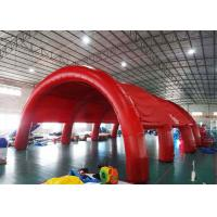Buy cheap Durable Huge Inflatable Arch Tents , Nylon Fabric Outdoor Dome Tent from wholesalers