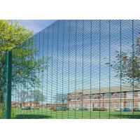 Buy cheap PVC Coated 358 High Security Fencing Anti Climb 358  Fence For Airport Or Military from wholesalers
