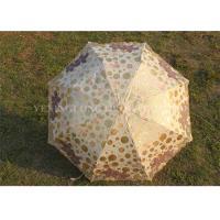 Customized Windproof Foldable Umbrella , Ladies Boutique Lace Sun Umbrella For Rain
