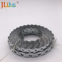 Buy cheap Wood  Plumbers Tape Metal Punched Perforated Metal Strap / Steel Fixing Band from wholesalers