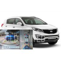 Buy cheap 360 Degree Seamless Car Reverse Camera Kit With IR Function For KIA SporTage R, Bird View Monitoring System product