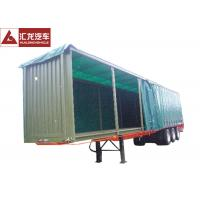 Buy cheap Aluminum Rails Curtain Side Trailer  π Hook Shape Water - Proof Covering Material from wholesalers