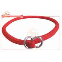 Buy cheap Red P Choke Customized Dog Collars / Martingale Training Collar from wholesalers