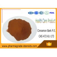 Buy cheap Pharmaceutical Intermediates Cinnamon Bark P.E for Health Care product , CAS 472-61-173 from wholesalers