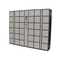 Buy cheap Steel Electronic Luggage Lockers Box Station with 36 Doors Large Size Smart Cards Integrated from wholesalers