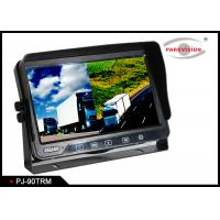 Buy cheap Vehicle AHD 9 Inch Wireless Backup Camera Rear View Mirror Monitor With 4 Channel product