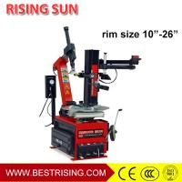 Buy cheap CE approved Car service station used rim clamp tire changer with assistant arm from wholesalers