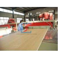 Buy cheap PVC WPC Door Panel Wood Plastic Extrusion Line With CE / BV / ISO CE/BV/ISO from wholesalers