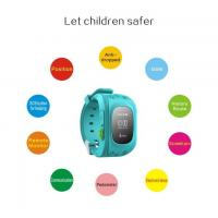 Buy cheap Child Gps Tracker Wrist Watch With Remote Location Tracking , Kids Tracking Device Watch from wholesalers