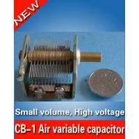 China CB-1 Air variable capacitor for radio transmitter High Voltage 13-135pF/ 1KV- Amplifier on sale