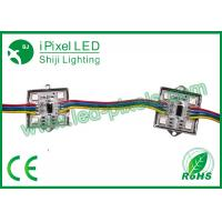 Buy cheap 4pcsSMD5050 12v Arduino RGB ws2801 LED Square Pixel Module in metal case from wholesalers