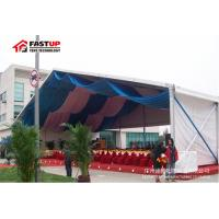 Buy cheap Durable Outdoor Wedding Reception Tent , White Wedding Tent With Glass Wall from wholesalers