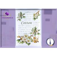 Buy cheap Personalized Cotton / Greenleaf Scented Envelope Sachet Lasts 4-6 Months from wholesalers