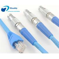 Buy cheap Lemo cable assembly service Lemo FGG male plug to RJ45 Cat5e/ Cat6 / Cat7 shield Ethernet cable from wholesalers