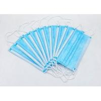 Buy cheap High Filtration Disposable Face Mask Odorless High Fluid And Respiratory product