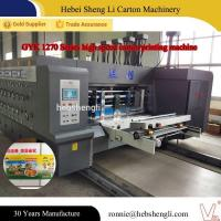 Buy cheap High Speed Corrugated Sheet Printing Machine CE ISO Certification from wholesalers