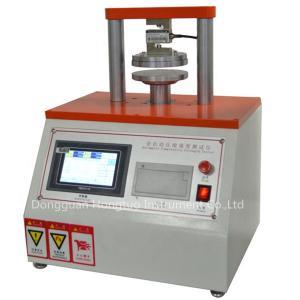 China Corrugated Boxes ECT Edge Ring Crushing Strength Test Machine , Cardboard Edge Crush Strength Tester on sale