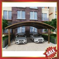 Buy cheap excellent sunshade waterproofing garden parking polycarbonate PC carport car shelter for villa house building cottage from wholesalers