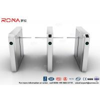 Buy cheap Drop Arm Turnstile 13.56Mh RFID Durable Security Pedestrian Barrier Gate Drop Arm For Public Facility product