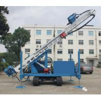 Buy cheap Durable Fully Hydraulic Water Well Drilling Equipment 7m Stroke Larger Cylinders from wholesalers