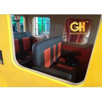 Buy cheap Customized Off Road Vehicle 5D Motion TheaterWith Jurassic Park Dinosaurs Game product