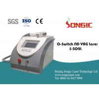 Buy cheap Q Switch ND YAG Laser Tattoo Removal equipment for eyebrow line, sunburn spot from wholesalers