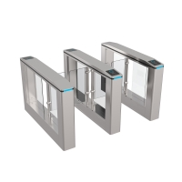 Buy cheap 1.5mm Thickness Stainless Steel Speed Turnstile Gate with High Safety and Security System from wholesalers