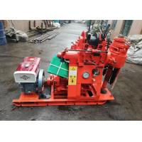 Buy cheap 200m Depth Hydraulic Borehole Drilling Machine For Geothermal Drilling from wholesalers